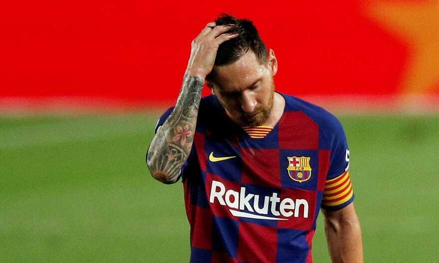 Chia tay Messi