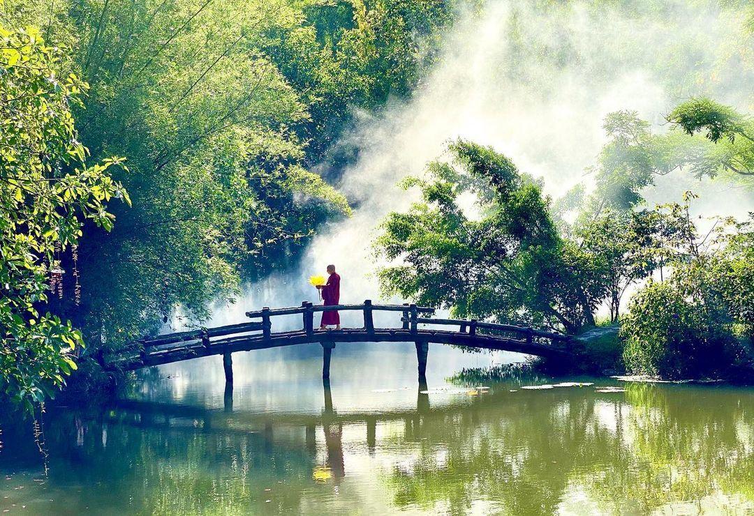 Chùa Huyền Không Sơn Thượng ngôi chùa đẹp ở Huế