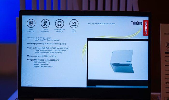 Cấu hình và hiệu năng bộ đôi ThinkBook Gen 3